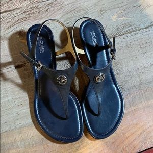 Michael Kors navy sandals